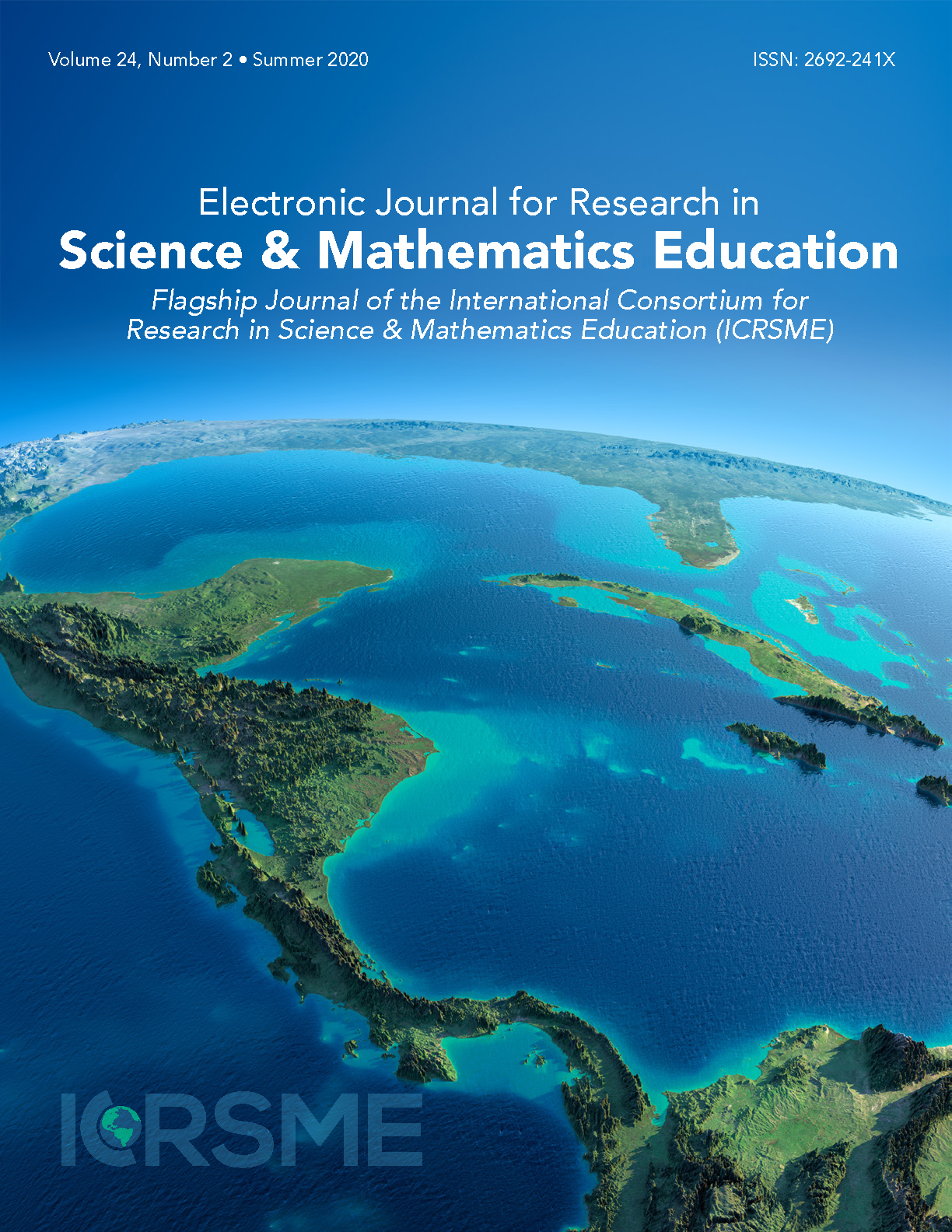Vol 24 No 2 (2020): Electronic Journal for Research in Science & Mathematics Education  The